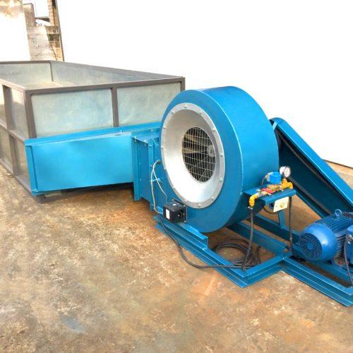 soplador-secador idustrial a gas