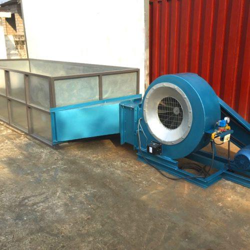 soplador-secador industrial a gas 2